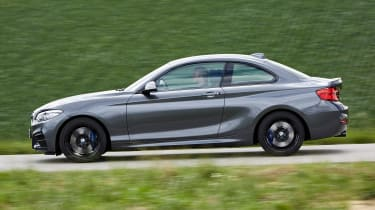 BMW M240i Coupe facelift review - side