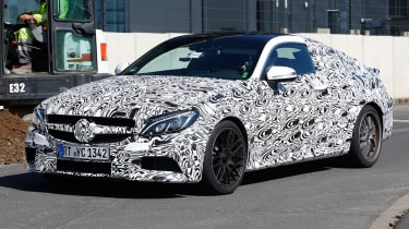The latest C63 saloon has already appeared, and an estate model is on the horizon for later in the year
