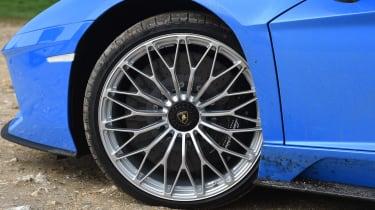 Lamborghini Aventador S Roadster - wheel