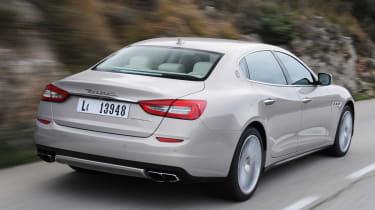 Maserati Quattroporte rear tracking