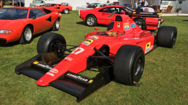 Salon Prive 2017 - Ferrari F1 Alain Prost