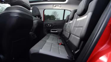citroen c5 aircross rear seats legroom