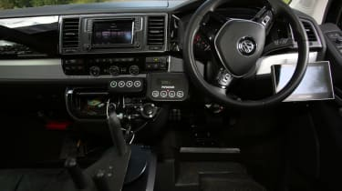 Disability driving feature - VW interior front