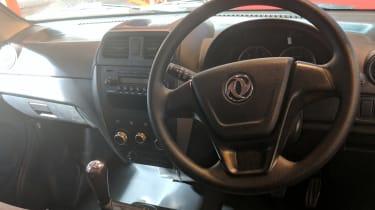 DFSK C35 interior