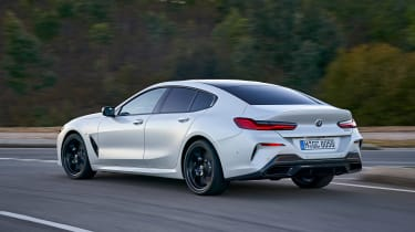 BMW 8 Series Gran Coupe - rear action