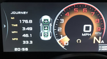 McLaren 570GT long term test final report - dash