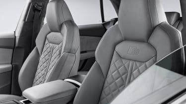 New Audi Q8 - front seats