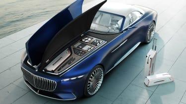 Vision Mercedes-Maybach 6 Cabriolet - storage
