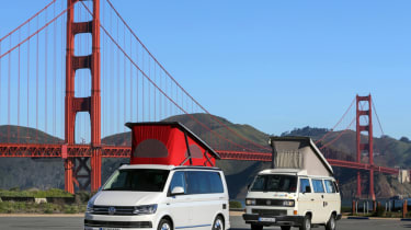 VW california old and new