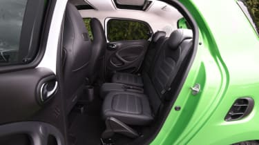 Smart ForFour ED - rear bench