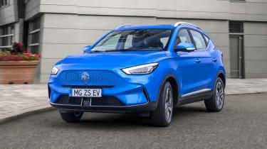 MG ZS EV facelift