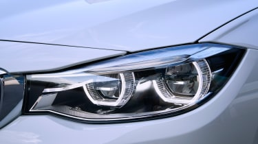 BMW 340i GT - front light detail