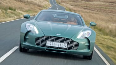Aston Martin One-77 front profile