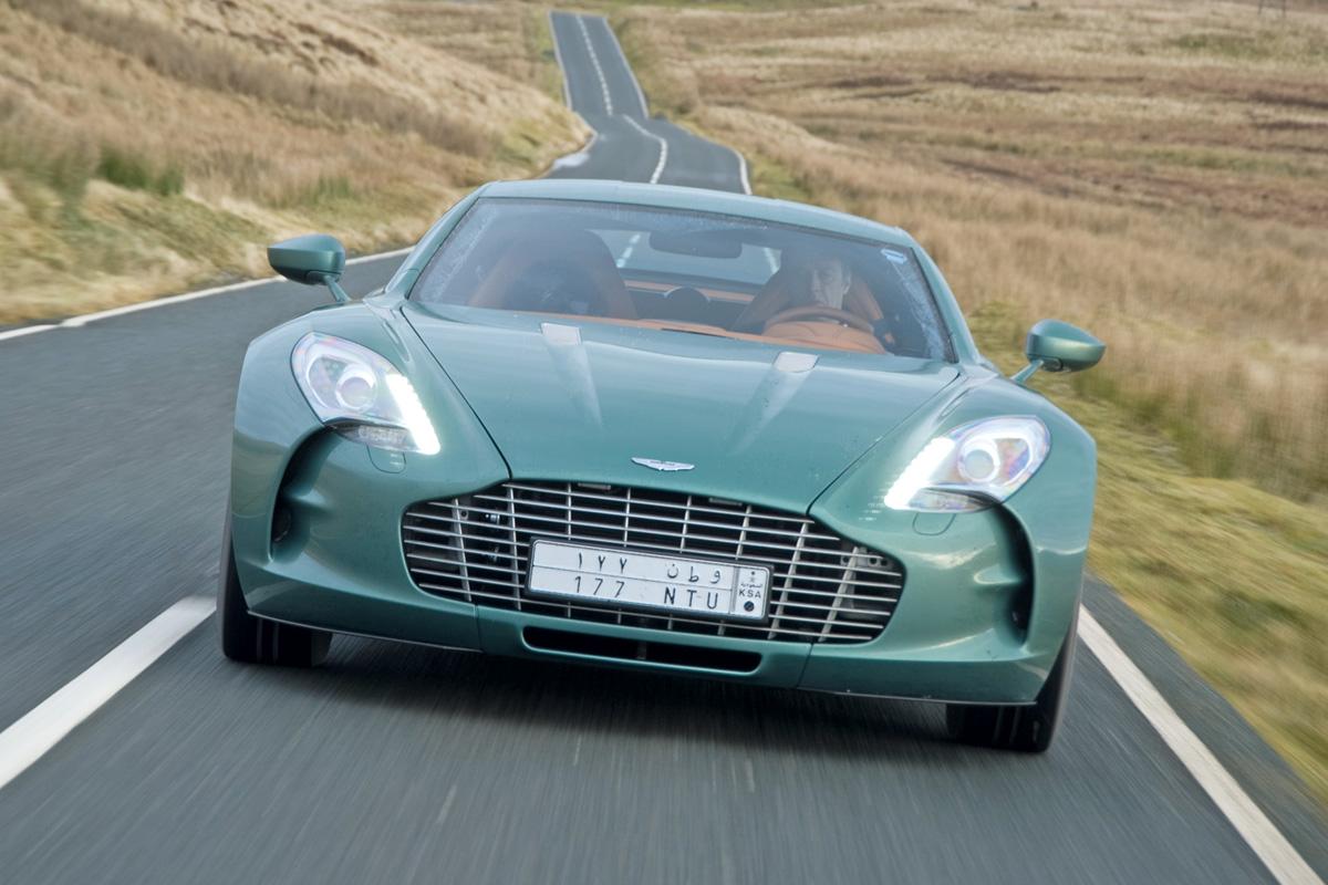Aston Martin One 77 World S Fastest Road Cars Auto Express