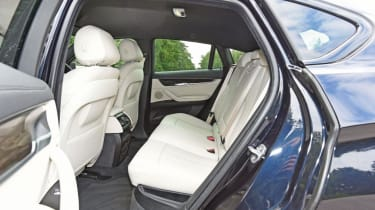 Used BMW X6 - rear seats