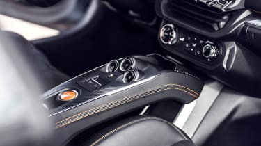 Alpine A110S - interior detail
