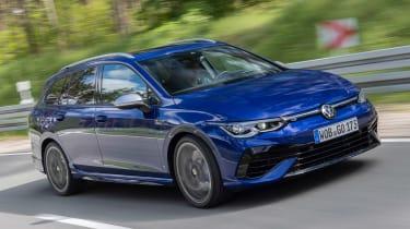 Volkswagen Golf R Estate - front tracking