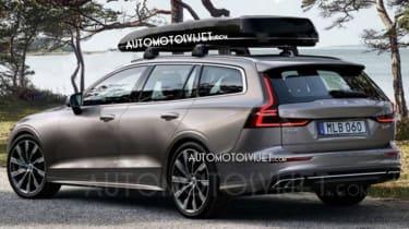 Volvo V60 - leaked rear