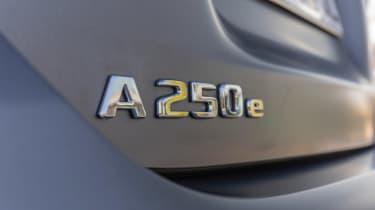 Mercedes A 250 e - A 250 e badge