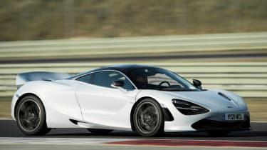 McLaren 720S - side track