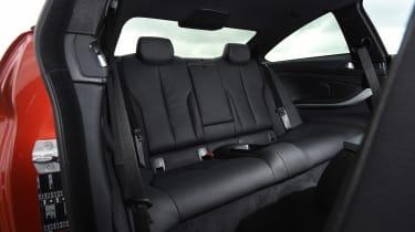 BMW 4 Series - rear seats