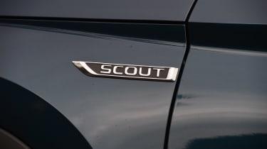 Skoda Kodiaq Scout - Scout badge