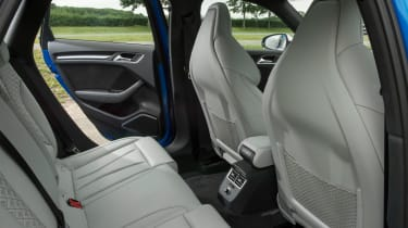 Audi RS 3 - rear seats