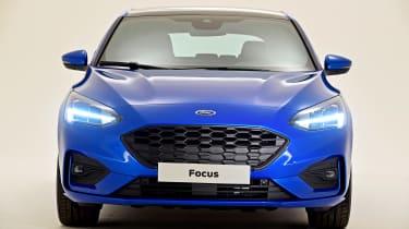 New Ford Focus S-Line studio - full front