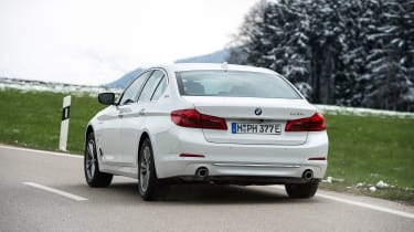 BMW 530e iPerformance - rear