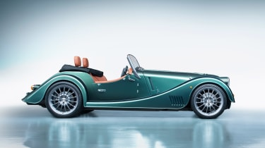 Morgan Plus Six - green side
