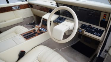 Aston Martin Lagonda - interior