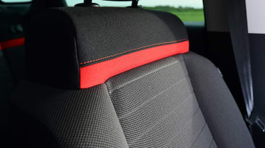 Citroen C3 Aircross - seat detail