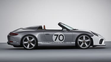 New Porsche 911 Speedster Concept - profile