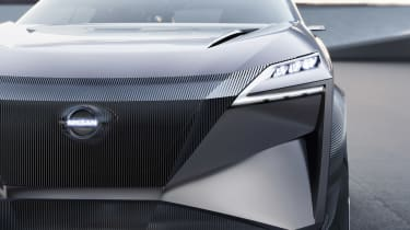 Nissan IMQ concept - grille