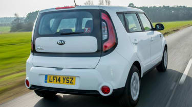 Used Kia Soul - rear action