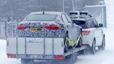 Jaguar XJ electric - spied - rear static
