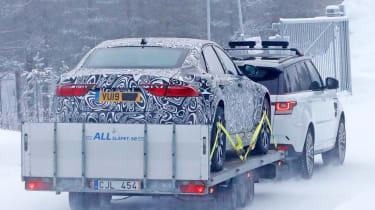 Jaguar XJ electric - spied - rear static