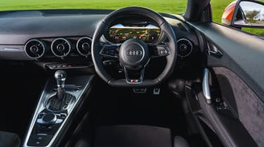 Audi TT Coupe - interior