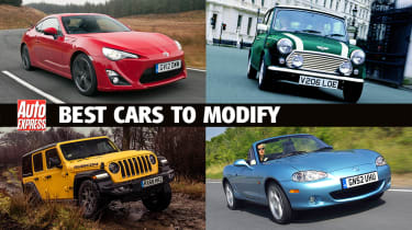 Best cars to modify - header
