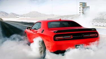 Dodge Challenger Hellcat SRT - rear action
