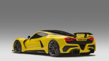 Hennessey Venom F5 side rear