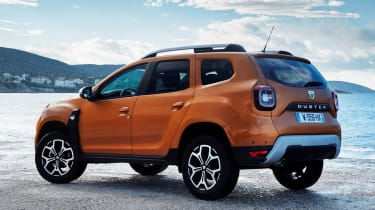 Dacia Duster - rear static