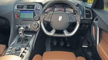 Citroen DS5 interior