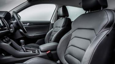 Skoda Kodiaq SUV 2016 - front seats