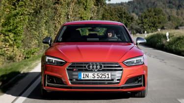 Audi S5 Sportback - full front action