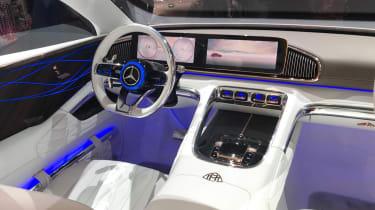 Mercedes-Maybach SUV interior