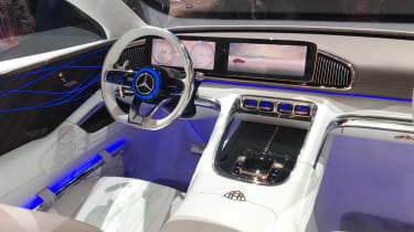 Mercedes-Maybach SUV interior