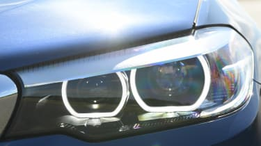 BMW 5 Series - front lights