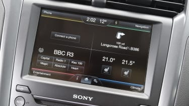 Ford SYNC 2 - screen