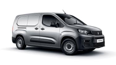 Peugeot Partner - front/side